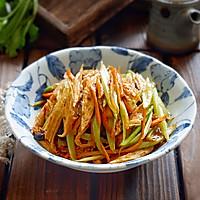 风味腐竹烩芹菜的做法图解10
