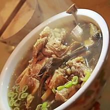 菌菇筒子骨汤