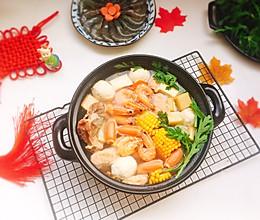 #冬天就要吃火锅#鲜味什锦火锅的做法