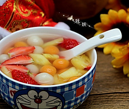 果蔬小汤圆的做法