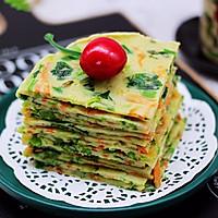 #春天肉菜这样吃#鹅蛋菠菜早餐饼的做法图解16