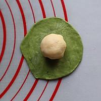 可爱小西瓜面包#金龙鱼精英100%烘焙大赛颖涵战队#的做法图解12