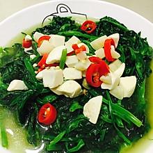 高汤豌豆尖