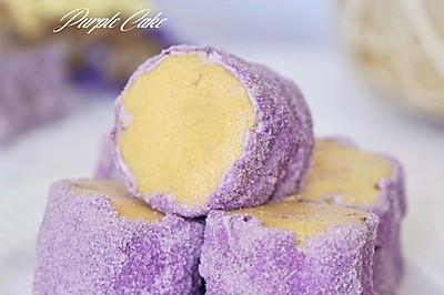 紫薯雪域小贝蛋糕