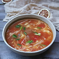 #相聚组个局#金针菇牛肉汤的做法图解11
