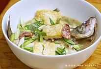 鱼与香肠的约会~香肠豆腐炖鱼~的做法