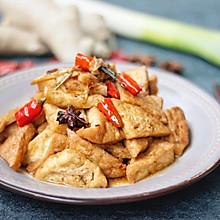 #就是红烧吃不腻!#红烧三角豆腐