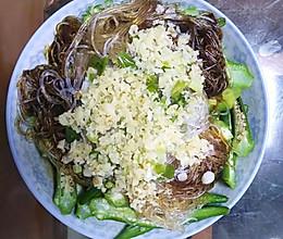 家常菜——蒜泥秋葵的做法