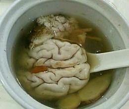天麻炖猪脑的做法