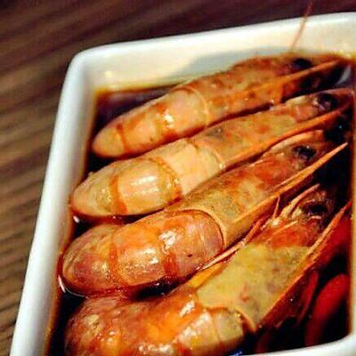 红烧啤酒虾