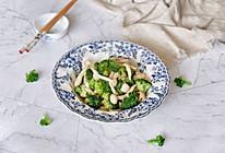 蚝油鲜菇西兰花的做法