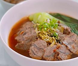 牛肉面汤的做法