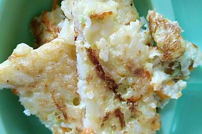 补锌清凉辅食之龙利鱼胡萝卜米饼