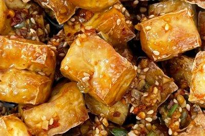 低卡减肥食谱——无油炸豆腐