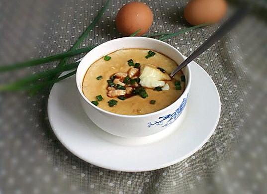 早餐~滑嫩蒸蛋