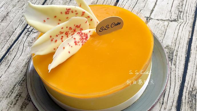 芒果凤梨慕斯蛋糕(6寸)