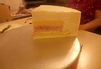 草莓夹心白巧克力慕斯蛋糕的做法