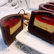 百香果慕斯杯子蛋糕