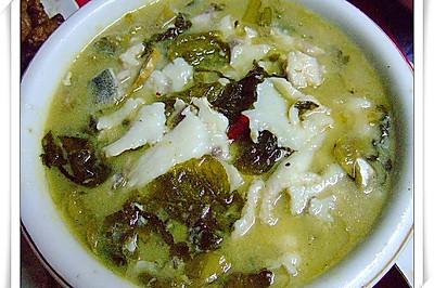 酸菜魚(超市買酸菜魚料包)