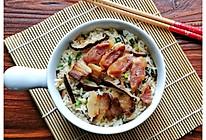 电饭锅版腊味煲仔饭的做法