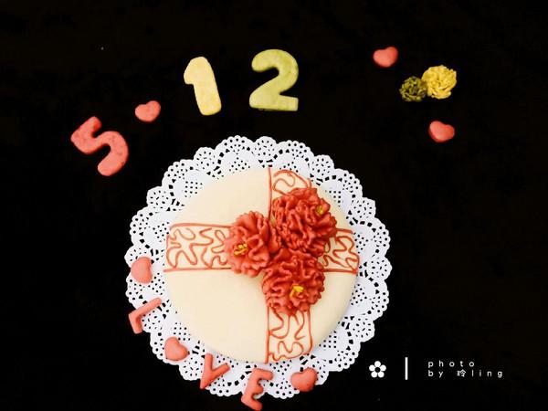 馒头版康乃馨蛋糕