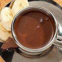 香蕉热巧克力
