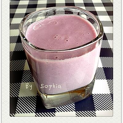 紫薯银耳奶露
