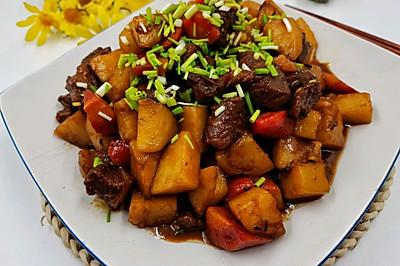 冬季一定要吃的家常菜 牛肉炖土豆