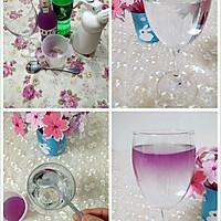 分层饮料之——紫色迷情的做法图解1