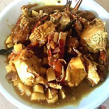 黄金咖喱蟹