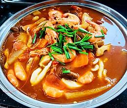 海鲜火锅(附辣椒沾料)的做法