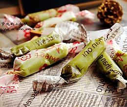 北海道抹茶味牛奶糖的做法