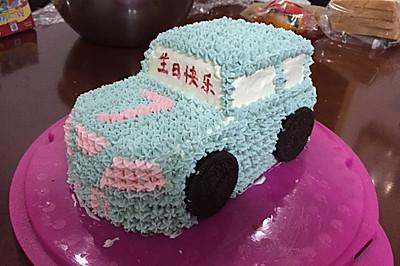 7号赛车蛋糕