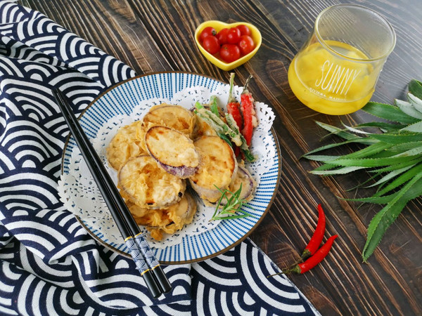 #带着零食去旅行!#酥酥脆脆天妇罗茄子的做法