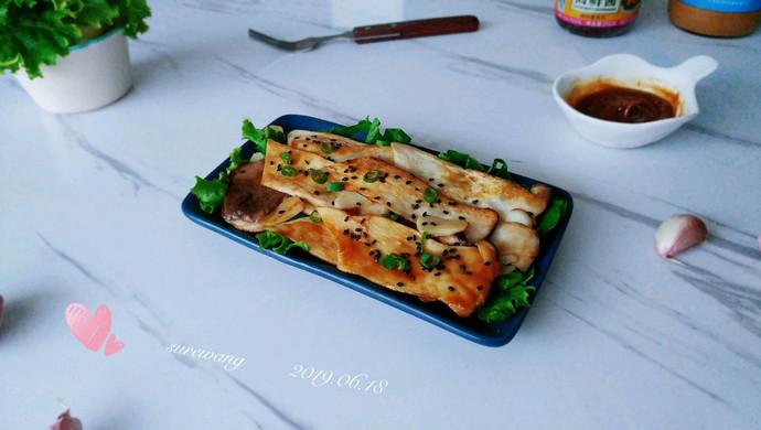 蜜油麻酱鲜蒜菇