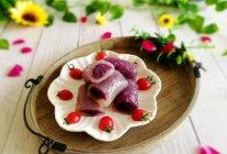 #精品菜谱挑战赛#辅食计划+水晶紫薯卷的做法