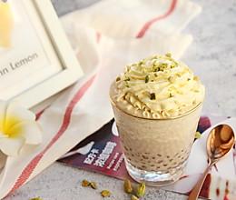【雪顶西米奶咖】#快手又营养,我家的冬日必备菜品#的做法