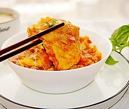 番茄豆腐#快手又营养,我家的冬日必备菜品#的做法