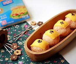 芝士海鲜饭团