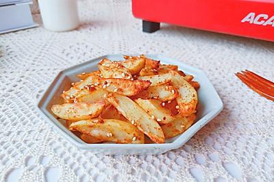 夏日小吃烤薯角