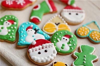 #九阳烘焙剧场#圣诞糖霜饼干