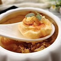 瑶柱虾米蒸水蛋的做法图解15