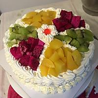 水果拼盘蛋糕的做法图解44