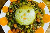 咖喱娃娃鸡肉饭的做法