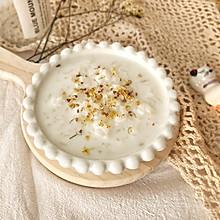 #快手又营养,我家的冬日必备菜品#暖身神器-蜂蜜牛奶桂花粥