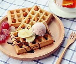 ·华夫饼·暖暖的下午茶的做法