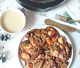 #中秋团圆食味#韩式泡菜煎饼的做法