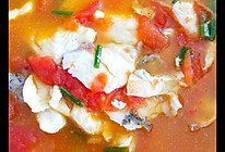 酸辣开胃番茄鱼片汤的做法