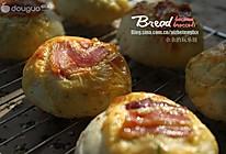 蔬菜培根面包的做法