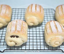 哈斯面包「蜜豆」「柠檬屑」的做法